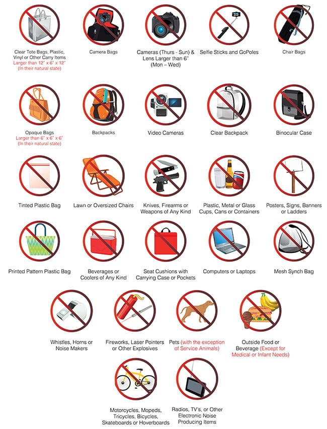 On-Course Policies - Travelers Championship - TPC River ...