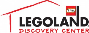 LEGOLAND Discovery Center, US logo, LLDC, logo, black logo, vector, native, Illustrator, 4C, 4 color, CMYK, with house, red house,