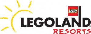 LEGOLAND California Resort, LLCR, logo, black logo, vector, native, Illustrator, 4C, 4 color, CMYK, with sun, yellow sun,