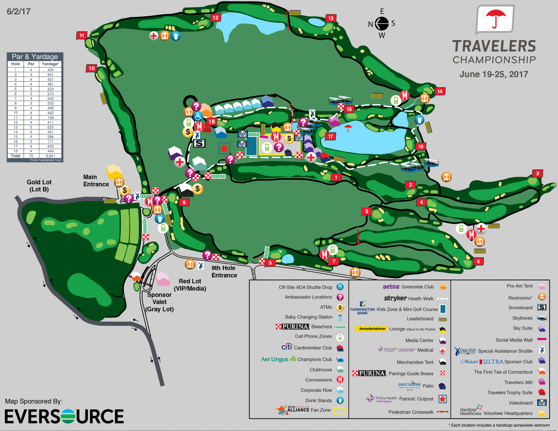 Course map travelers championship tpc river highlands tpc river highlands is a par 70 6841 yard course located on the banks of the connecticut river in cromwell connecticut 10 miles south of hartford sciox Images