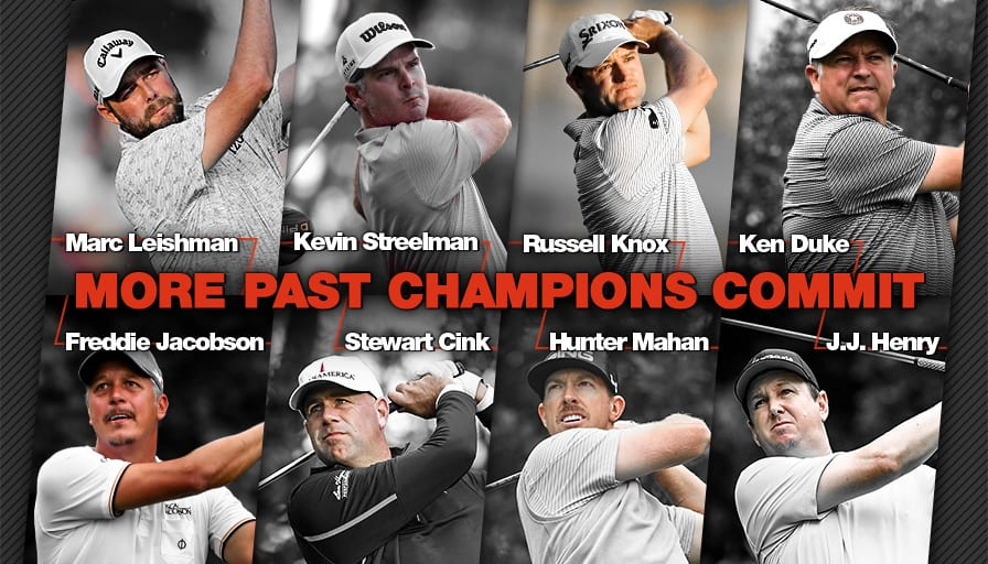 d484afa7cbadd1 EIGHT ADDITIONAL PAST CHAMPIONS COMMIT TO 2018 TRAVELERS CHAMPIONSHIP
