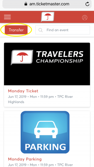 Account Manager Mobile Manage Tickets
