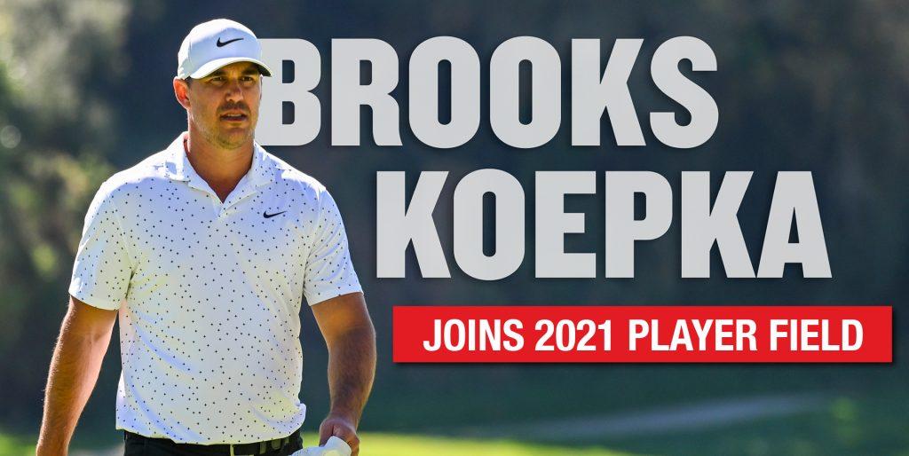Brooks Koepka Commits To 2021 Travelers Championship Travelers Championship Tpc River Highlands